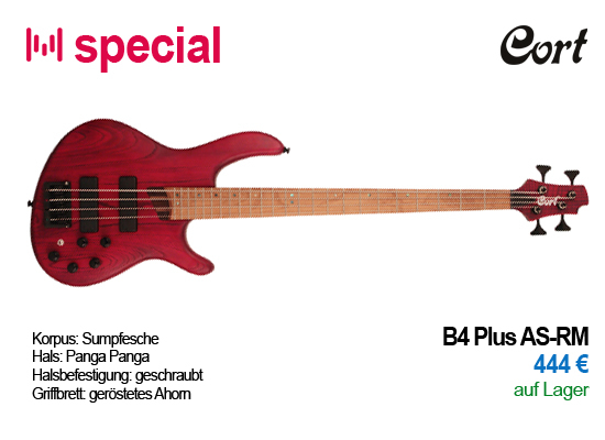 Cort B4 Plus AS-RM Special