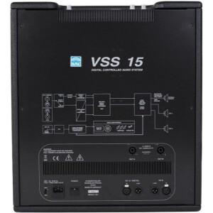 K.M.E. Versio VSS 15 Subwoofer aktiv