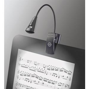 K&M Notenpultleuchte »2 LED FlexLight« 12242 schwarz