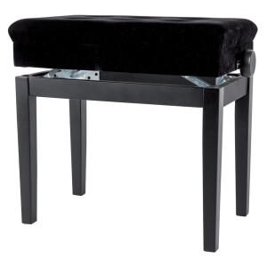 GEWA Pianobank Deluxe Compartment Rosenholz Matt