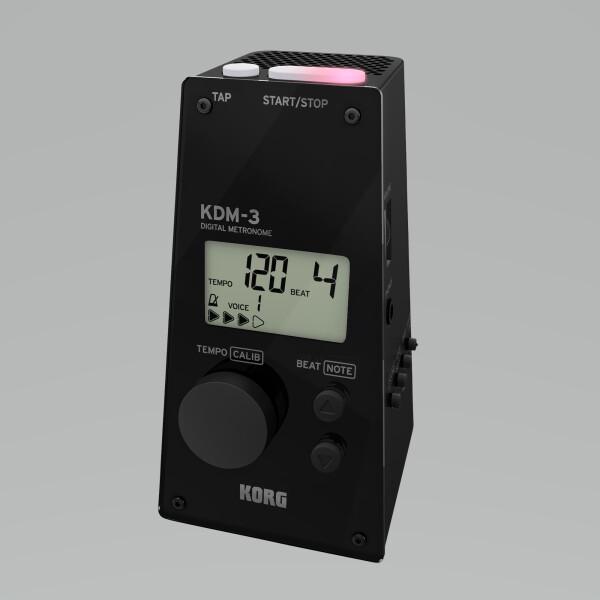 KORG  Metronom KDM-3 digital, schwarz
