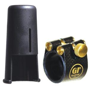 GF-SYSTEM Blattschraube und Kapsel Gold-Line 08M