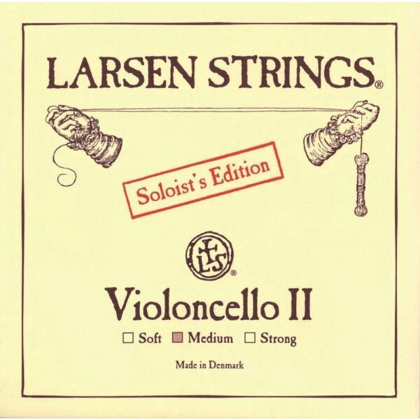 Larsen Einzelsaite D Cello medium II