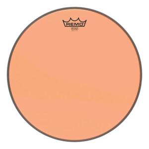 "Remo Colortone Emperor Clear BE-0315-CT-OG Orange 15"""