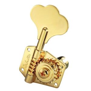 SCHALLER Mechanik BM 3 links/ 2 rechts Gold