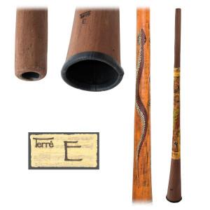 TERRÉ Baked wood Didgeridoo E