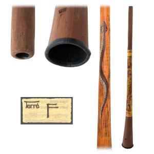 TERRÉ Baked wood Didgeridoo F