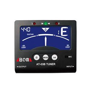 AROMA  Stimmgerät Digital-Tuner AT-03B chromatisch mit in/out