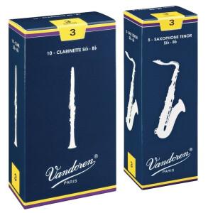 VANDOREN Blatt Bass-Klarinette Traditionell 2 1/2