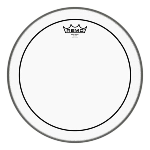 "Remo Pinstripe Transparent PS-0310-00 10"""