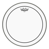 "REMO Pinstripe Transparent Bassdrum PS-1324-00 24"""