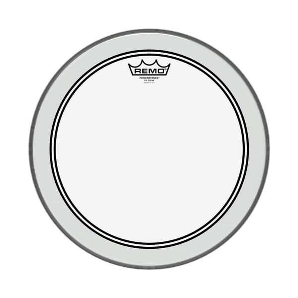 "REMO Powerstroke 3 Transparent P3-0316-BP 16"""