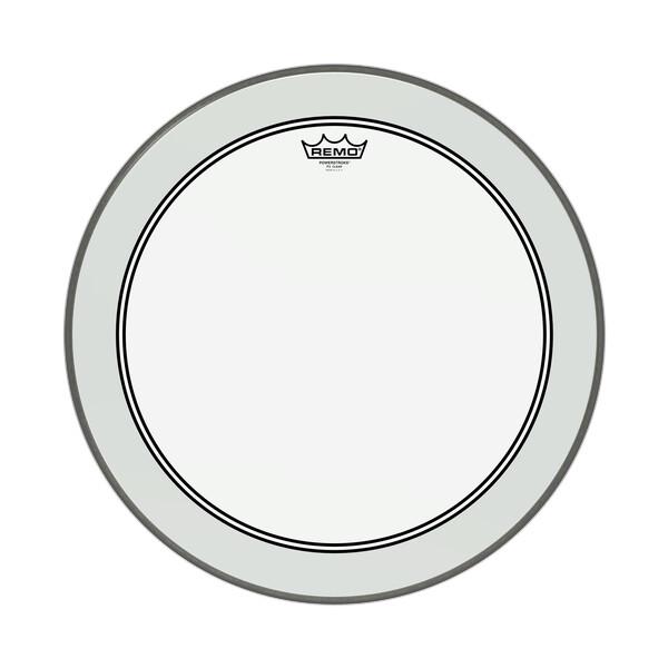 """Remo Powerstroke 3 Transparent Bassdrum P3-1322-C2 22"""""""