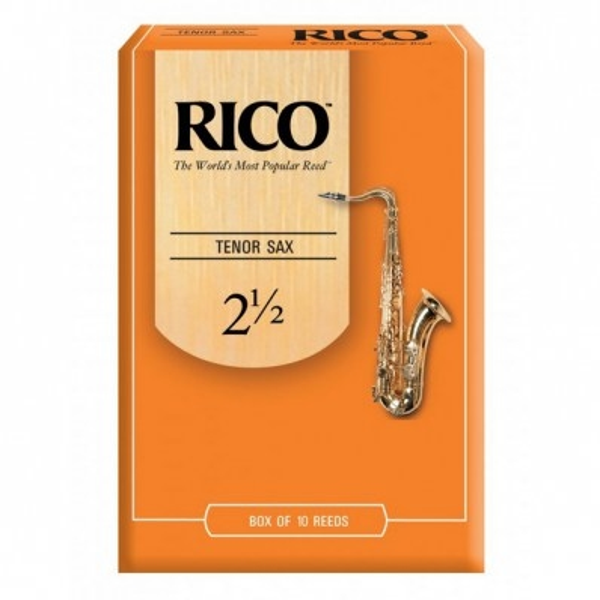 Rico Tenorsaxophon Blatt 2,5, Packung mit 25 Stück
