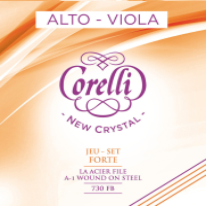 CORELLI Viola-Saiten New Crystal Satz 730FB Forte