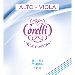 CORELLI Viola-Saiten New Crystal Satz 730M Medium