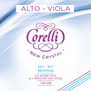 CORELLI Viola-Saiten New Crystal Satz 730MB Medium