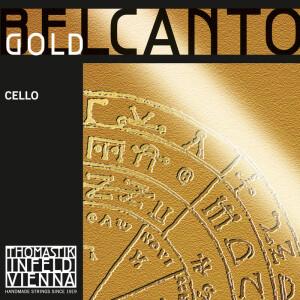 THOMASTIK-INFELD Cello-Saite Belcanto Gold BC25G A Mittel
