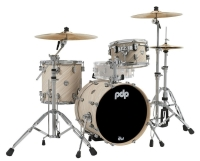 PDP BY DW Shellset Concept Maple Finish Ply PDCM18BPTI Twisted Ivory
