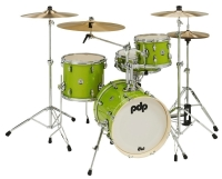 PDP BY DW Shellset New Yorker PDNY1604EL Electric Green Sparkle