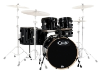 PDP BY DW Shellset Concept Maple Ebony Stain
