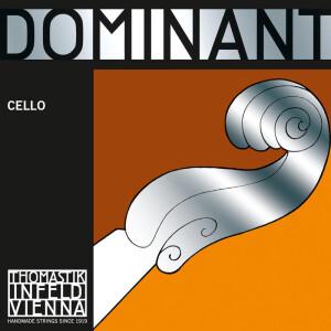 THOMASTIK-INFELD Cello-Saite Dominant Nylonkern 143 D 1/4