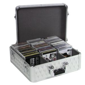 ROADINGER CD-Case ALU poliert 100 CDs