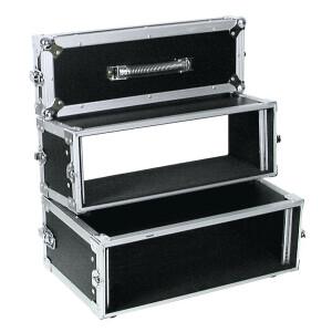 ROADINGER Doppel-CD-Player-Case Tour Pro 3HE sw