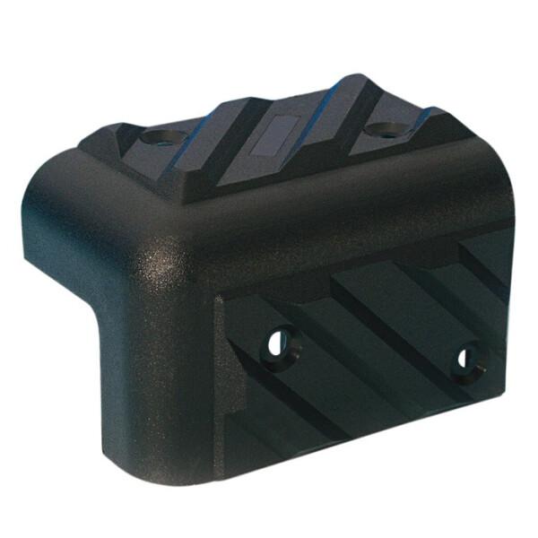 ADAM HALL Boxenecke Kunststoff stapelbar schwarz