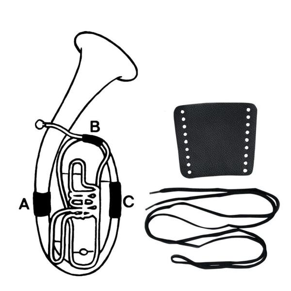 Gewa Handschutz Leder Konzerttrompete